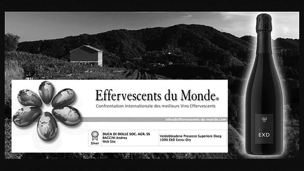 Bottle of our EXD Prize Winner Effervescent du Monde 2014