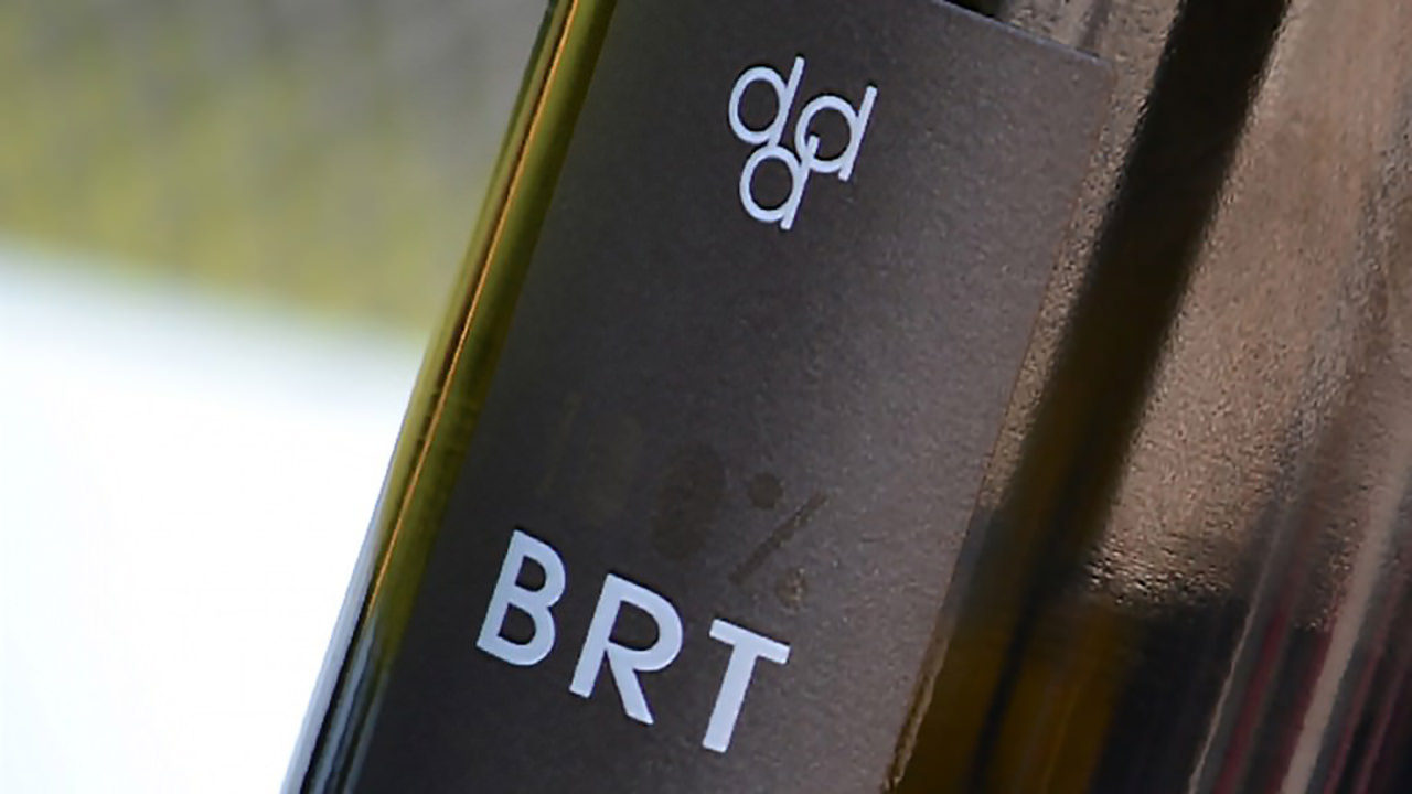 Macro of our BRT bottle Prosecco Spumante